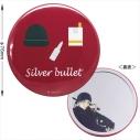 【グッズ-ミラー】名探偵コナン 缶ミラー(モチーフ柄 赤井)の画像