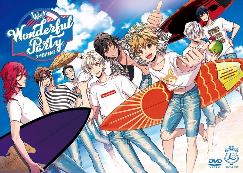 【DVD】イベント WAVE!! 1st EVENT ~Wonderful Party~