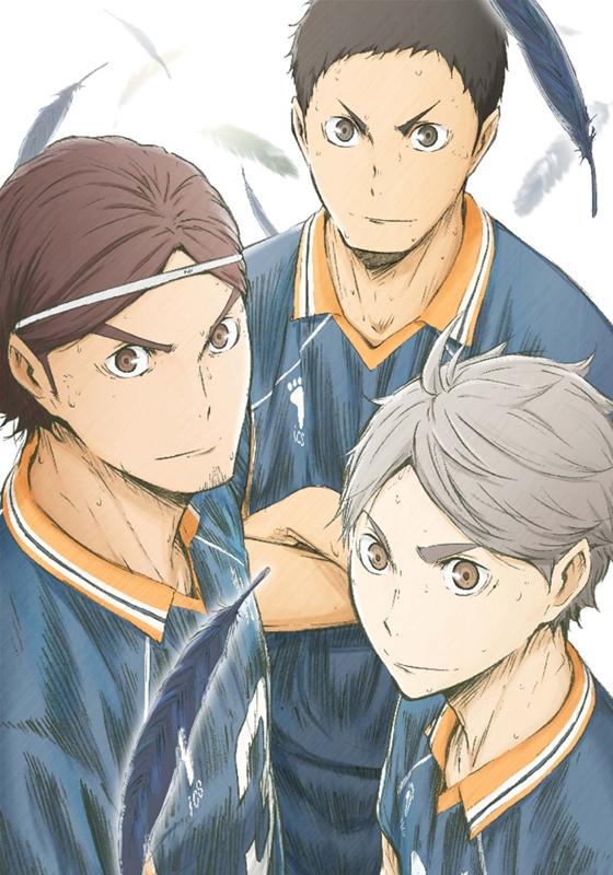 【Blu-ray】TV ハイキュー!! 烏野高校 VS 白鳥沢学園高校 Vol.3 初回生産限定版