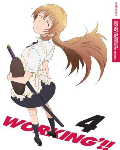 【Blu-ray】TV WORKING'!! 4 完全生産限定版