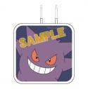 【グッズ-電化製品】ポケットモンスター USB 2ポートACアダプタ ゲンガーの画像