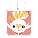 【グッズ-電化製品】ポケットモンスター USB 2ポートACアダプタ ヒバニーの画像