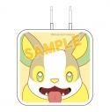 【グッズ-電化製品】ポケットモンスター USB 2ポートACアダプタ ワンパチの画像