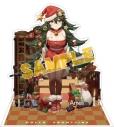 【グッズ-スタンドポップ】ドールズフロントライン 戦術人形コレクション スノーフェアリー Ameli プレゼント売りのクリスマスツリーの画像