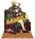 【グッズ-スタンドポップ】ドールズフロントライン 戦術人形コレクション スノーフェアリー Gr G11 一番素敵な贈り物の画像