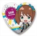 【グッズ-バッチ】アイドルマスター SideM SideMini ハート缶バッジ グローリーモノクローム 水嶋 咲の画像