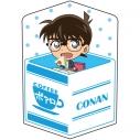 【グッズ-クッション】名探偵コナン キャラ箱クッションVol.5 ポアロの日常コレクション 江戸川コナンの画像