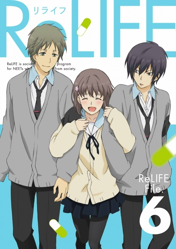 【Blu-ray】TV ReLIFE 6 完全生産限定版