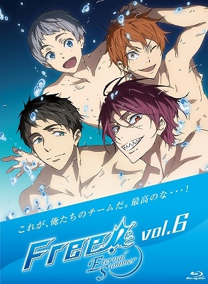 【Blu-ray】TVアニメ Free!-Eternal Summer- 6