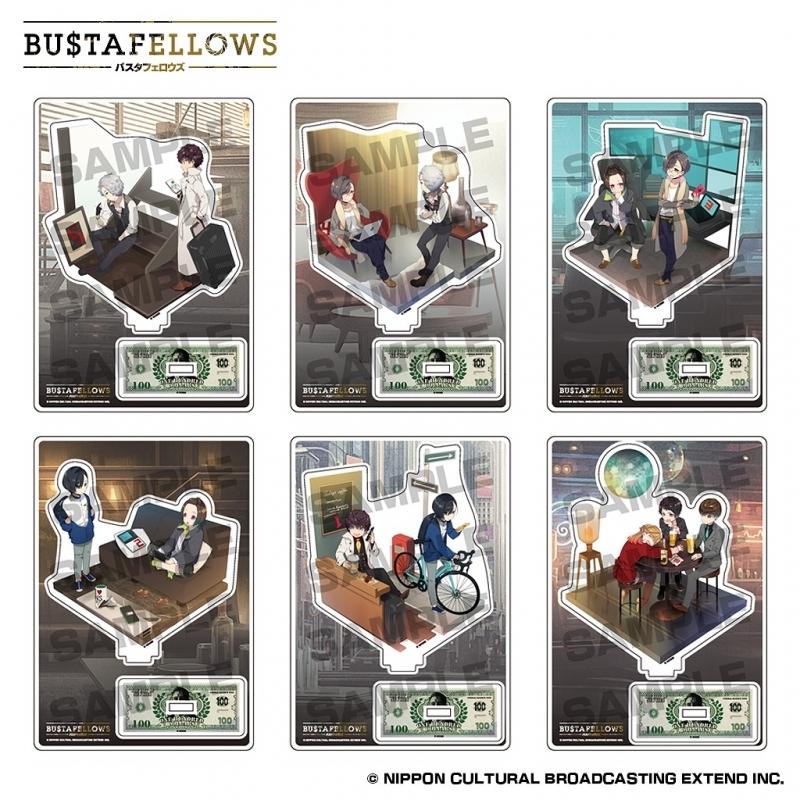 【ゲーム-スタンドポップ】BUSTAFELLOWS(バスタフェロウズ) アクリルスタンドコレクション「Welcome to NEW SIEG」