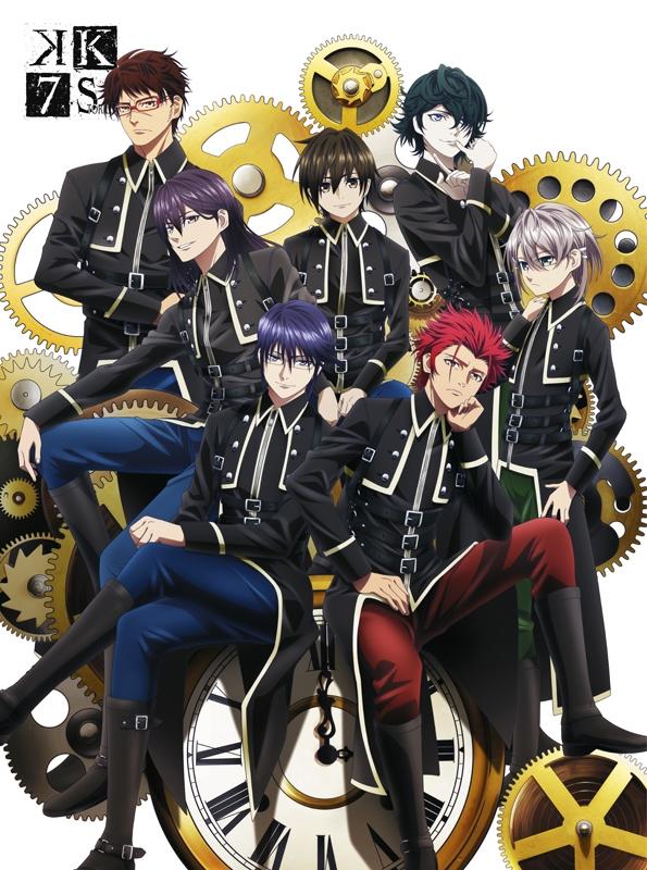 【Blu-ray】劇場版 K SEVEN STORIES Blu-ray BOX SIDE:ONE 期間限定版 アニメイト限定セット