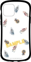 【グッズ-カバーホルダー】刀剣乱舞-ONLINE- iPhone 11Pro対応 ハイブリッドガラスケース Bタイプの画像