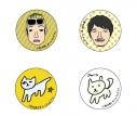 【グッズ-バッチ】小野坂昌也 ニューヤングTV トレーディング缶バッチセットの画像