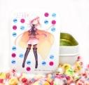 【グッズ-食品】マギアレコード 魔法少女まどか☆マギカ外伝 不二家のMilkyコラボ Milky缶 B:環いろはの画像