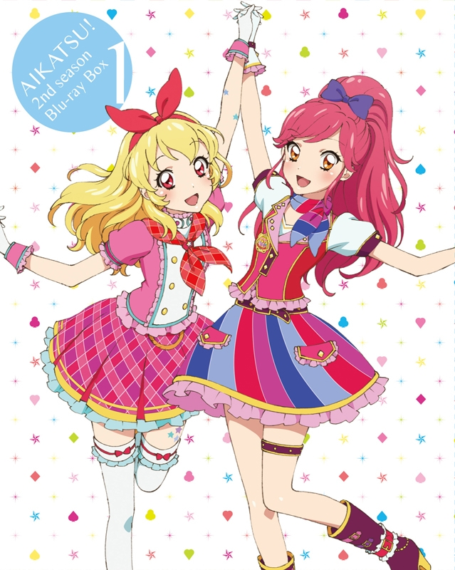 【Blu-ray】TV アイカツ! 2ndシーズン Blu-ray BOX1