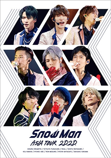 Blu-ray】Snow Man/Snow Man ASIA TOUR 2D.2D. 通常版 | アニメイト
