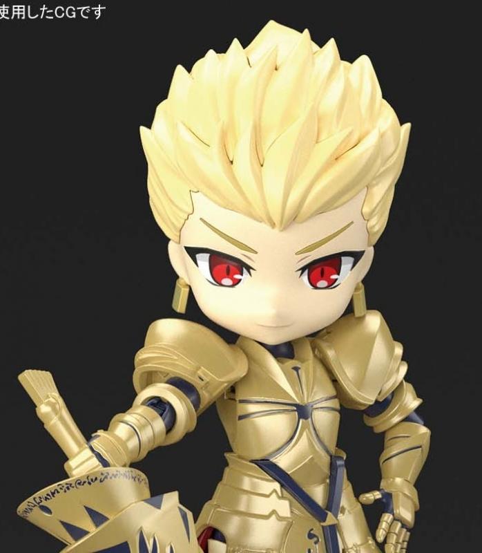 【プラモデル】ぷちりっつ Fate/Grand Order アーチャー/ギルガメッシュ