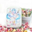 【グッズ-食品】初音ミク 不二家のMilkyコラボ Milky缶 A:さくらしおりイラストverの画像