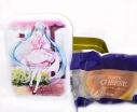 【グッズ-食品】初音ミク 不二家のチーズタルトコラボ チーズタルト缶 Dの画像