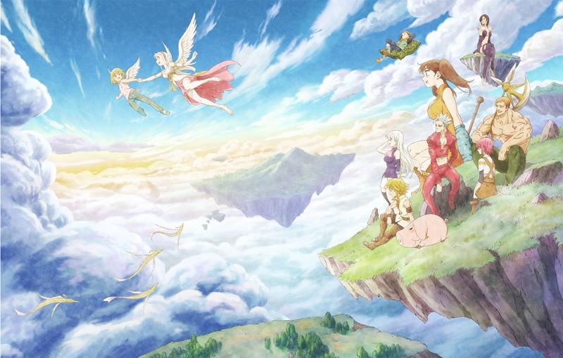 【Blu-ray】劇場版 七つの大罪 天空の囚われ人 完全生産限定版