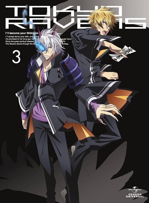 【Blu-ray】TV 東京レイヴンズ 第3巻 初回限定版