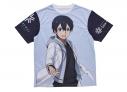 【グッズ-Tシャツ】【Snowfestival2019】ソードアート・オンライン アリシゼーション フルグラフィックTシャツ(キリト)の画像
