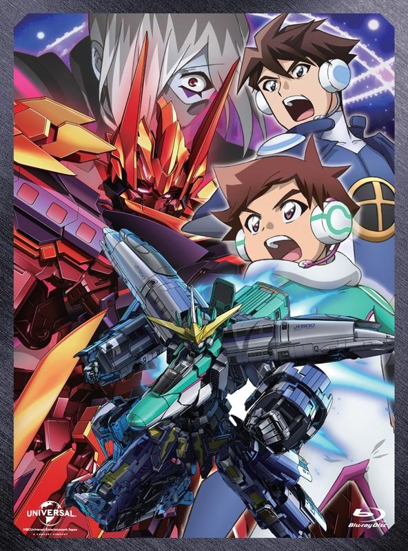 【Blu-ray】新幹線変形ロボ シンカリオンBlu-ray BOX2 通常版
