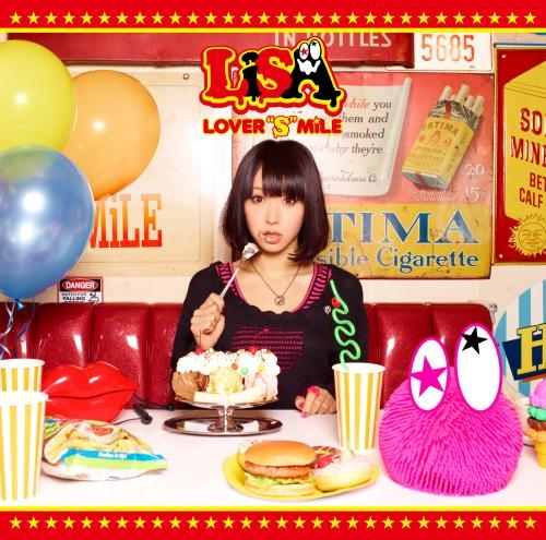 """【アルバム】LiSA/LOVER""""S""""MiLE 通常盤"""