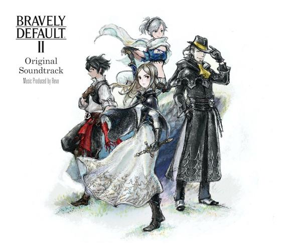 【サウンドトラック】NS版 BRAVELY DEFAULT II Original Soundtrack 通常盤