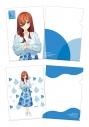 【グッズ-クリアファイル】五等分の花嫁∬ クリアファイル二枚セット 中野三玖の画像