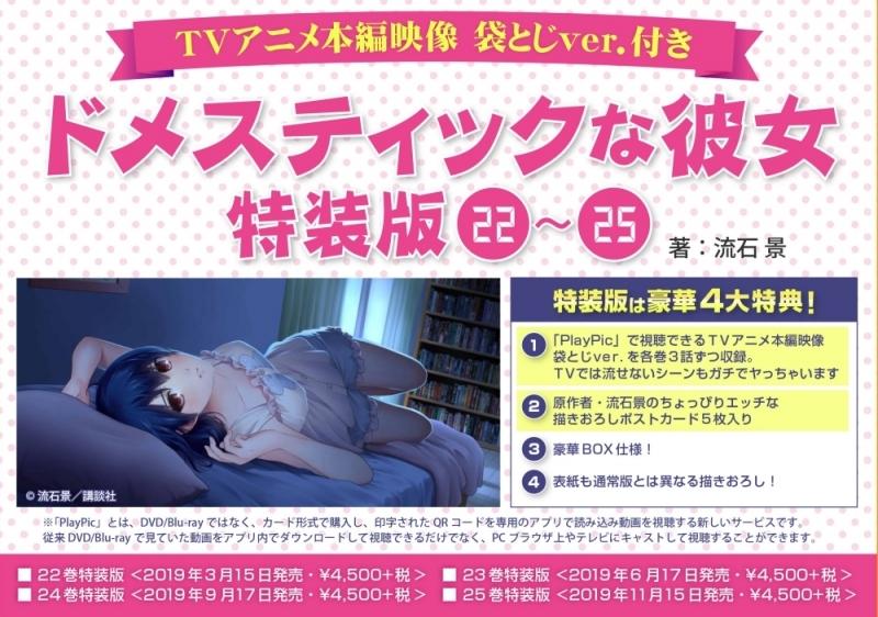 【コミック】ドメスティックな彼女(22) TVアニメ本編映像 袋とじver.付き 特装版
