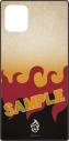 【グッズ-カバーホルダー】鬼滅の刃 iPhone11/XR 対応スクエアガラスケース 煉獄杏寿郎(れんごく きょうじゅろう)の画像