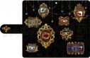 【グッズ-カバーホルダー】夢王国と眠れる100人の王子様 スマートフォンケース(仮面舞踏会Ver.)の画像