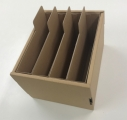 【収納BOX】【アニメイトオンライン限定販売】B5同人誌収納BOX(連結機構付) ・茶の画像