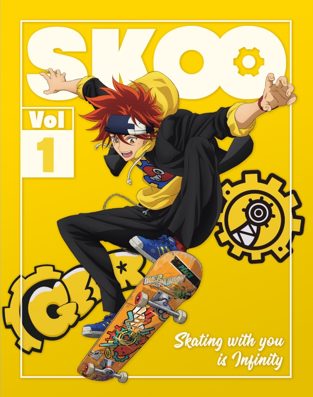 【Blu-ray】TV SK∞ エスケーエイト Vol.1 完全生産限定版