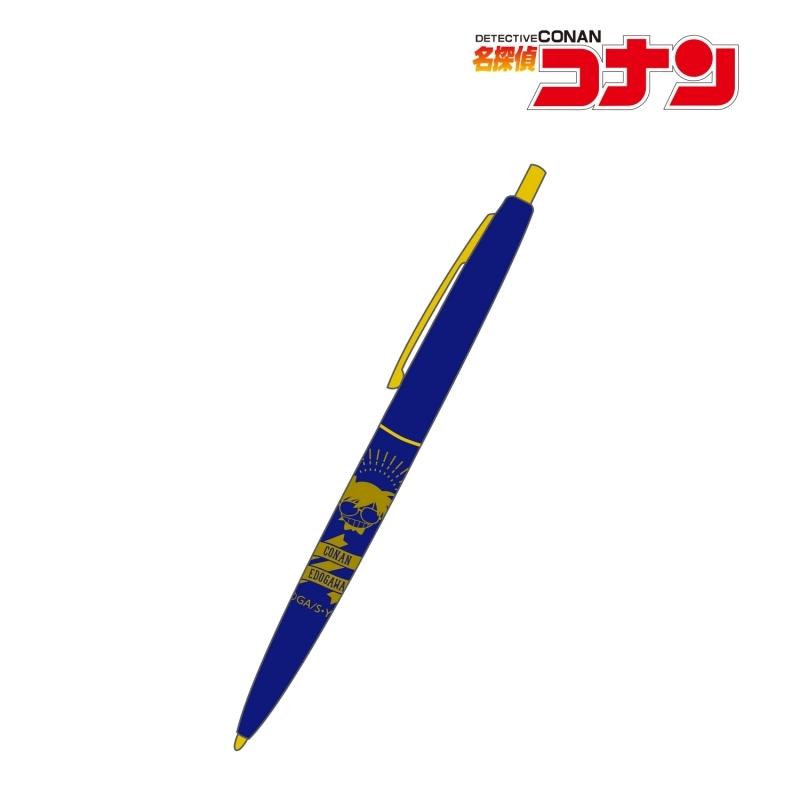 【グッズ-ボールペン】名探偵コナン 江戸川コナン クリックゴールド ボールペン