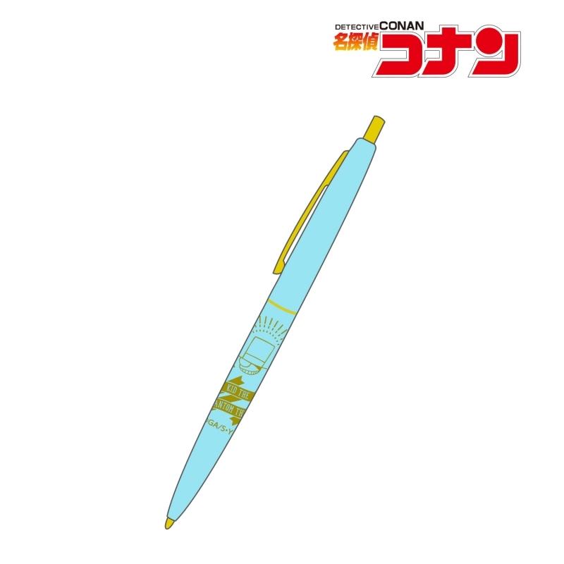【グッズ-ボールペン】名探偵コナン 怪盗キッド クリックゴールド ボールペン