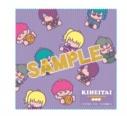 【グッズ-ハンカチ】銀魂×Sanrio characters KIHEITAI×ゴロピカドン クリーニングクロスの画像