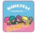 【グッズ-タオル】銀魂×Sanrio characters KIHEITAI×ゴロピカドン ハンドタオルの画像