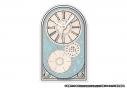 【グッズ-時計】文豪ストレイドッグス アクリル卓上時計【アニメイト限定】の画像