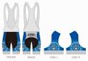 【サイクルウェア】ストライクウィッチーズ ROAD to BERLIN サイクルビブショーツ XLサイズ【アウローラ】の画像