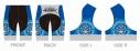 【サイクルウェア】ストライクウィッチーズ ROAD to BERLIN サイクルパンツ XLサイズ【アウローラ】の画像