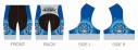 【サイクルウェア】ストライクウィッチーズ ROAD to BERLIN サイクルパンツ XXLサイズ【アウローラ】の画像