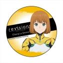 【グッズ-バッチ】revisions リヴィジョンズ カンバッジ 張・露・シュタイナーの画像