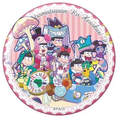 【グッズ-バッチ】おそ松さんのへそくりウォーズ'20 おおきめ缶バッジ ニートの国のおそ松