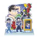 【グッズ-スタンドポップ】おそ松さんのへそくりウォーズ'20 ジオラマアクリルスタンディ カラ松の画像