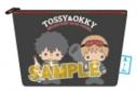 【グッズ-ポーチ】銀魂×Sanrio characters TOSSY&OKKY×PATTY&JIMMY 相良刺繍ポーチの画像