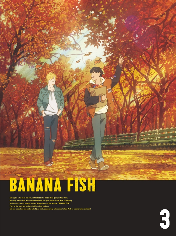 【DVD】TV BANANA FISH DVD Disc BOX 3 完全生産限定版