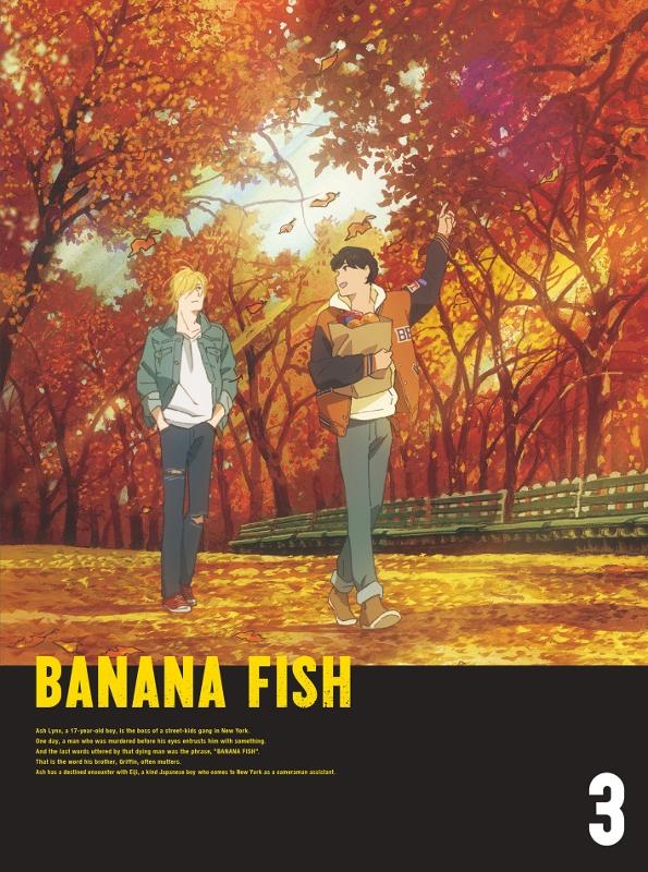 【DVD】TV BANANA FISH DVD Disc BOX 3 完全生産限定版