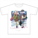 【グッズ-Tシャツ】ゆるキャン△ 初雪キャンプ グラフィックTシャツの画像